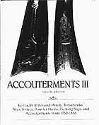ACCOUTERMENTS III