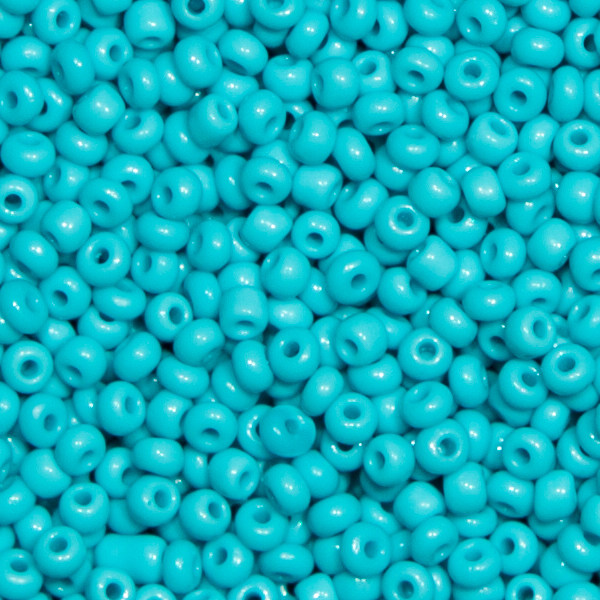 Ponybeads (Stickperlen). Alte Farben, Türkis 100gr