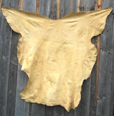 Hirngegerbtes Leder, Weißwedelhirsch