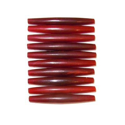 Horn-Hairpipes, rot, 60mm