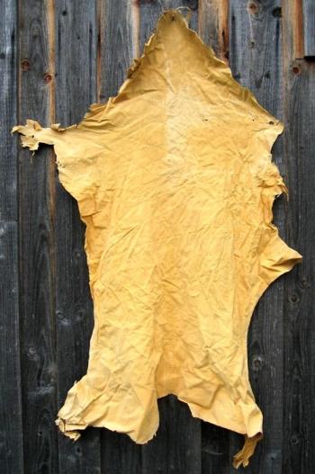 Hirsch-Spaltleder, große Haut