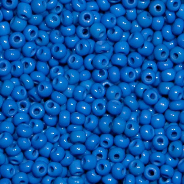 Ponybeads (Stickperlen). Alte Farben, Kreideblau 250gr.
