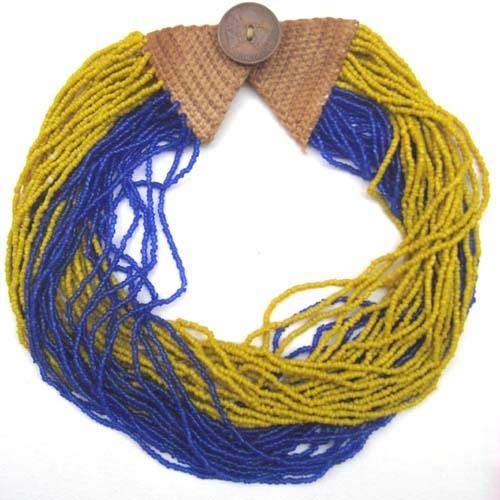 Multistringkette gelb/blau