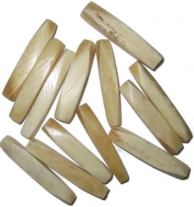 Knochenperlen, 10 Stück
