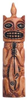 Schamanenamulett aus Bein