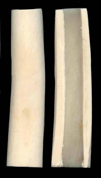 Griffschalen aus Knochen
