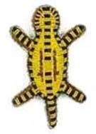 Nabelschnurbehälter Turtle Glasperlen