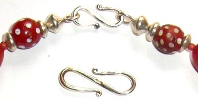 Halskette mit alten Tradebeads