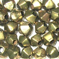 04-Alte Messingperlen sehr groß. 20 Perlen.