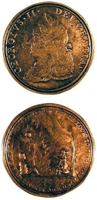 """""""George II"""", 1757"""