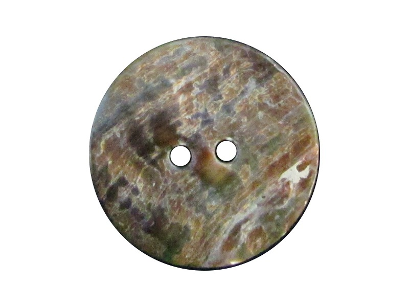 Abalone Knöpfe ø 27mm / 6 Stück Sonderposten