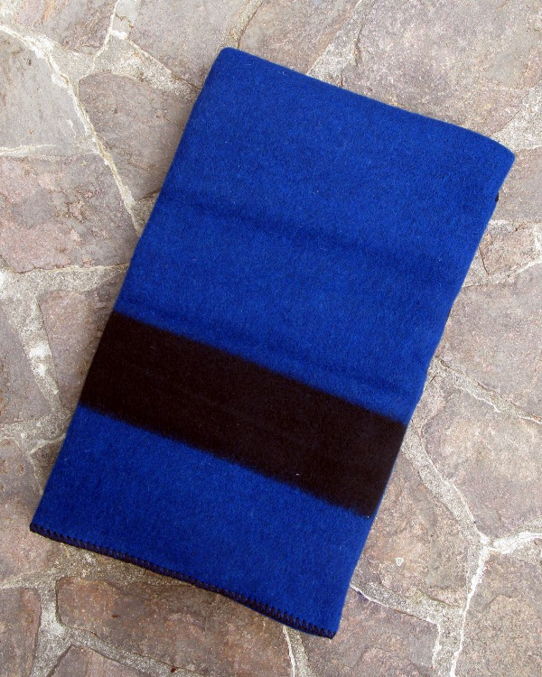 Hudson's Bay 5 Point Blanket / Blau